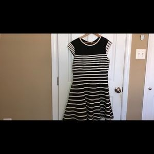 Great black and white party dress
